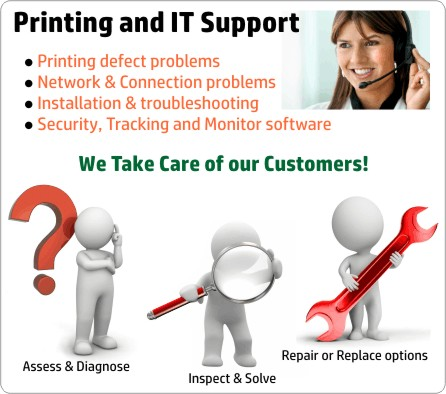 Printing and IT Support
